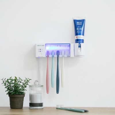 국산 원적외선 2017년형 신형 칫솔살균기 완벽 살균