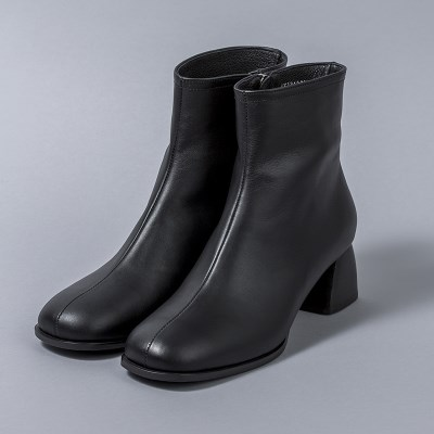 [흰]HS1712 Ankle Boots_Black