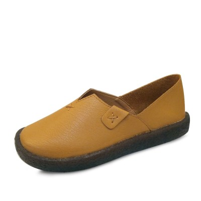 kami et muse Stitch point comfort leather loafers_KM17w215
