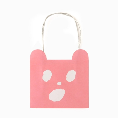 [AIUEO] KUMA Paper bag S size (2 options)