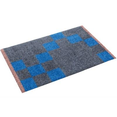 메테디트머 Quadrata 러그 Royal blue (S)
