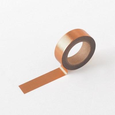 왈가닥스 포일 마스킹테이프 - 253 Bronze