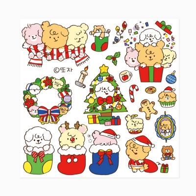 [또자] 크리스마스 댕댕 스티커