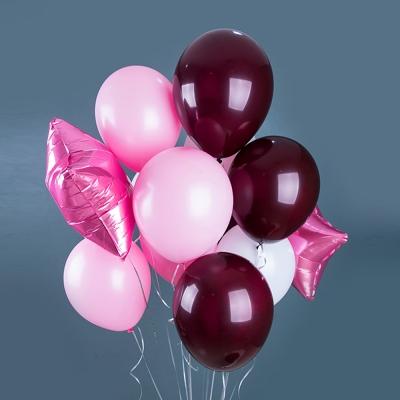 핑크 옴브레 벌룬세트 (14pcs) (브라이덜샤워/홈파티/생일파티)