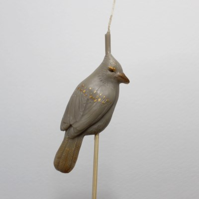 Animal Party Candle - Exotic bird/파랑새