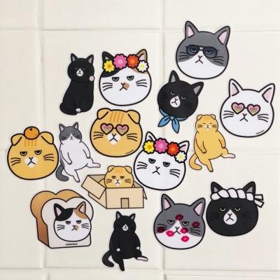 고양이 pvc 방수 스티커 - small