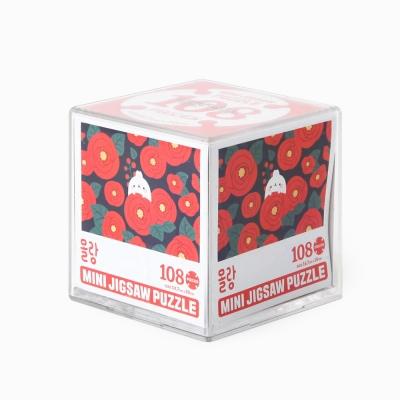 몰랑이 108PCS 직소퍼즐 7/동백꽃