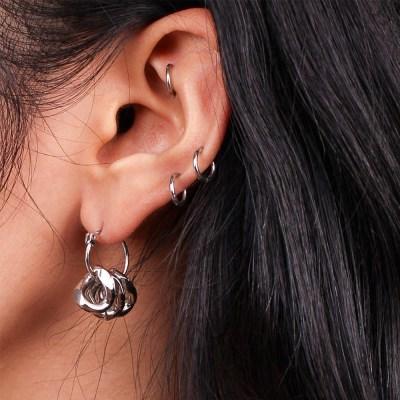 BOLD CHAIN EARRING