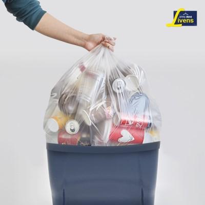 분리수거함 비닐봉투(40L) 100매_(12140038)