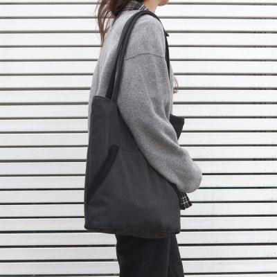 Kangaroo pocket bag _ Deep Gray