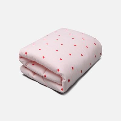 [룰라바이] Sweetheart Pink Comforter 스윗하트 핑크 차렵이불