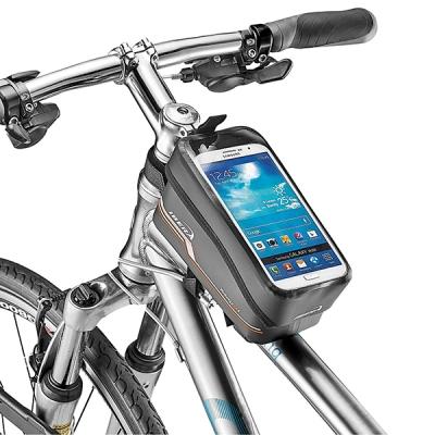 자전거 완전 방수 스마트폰거치 가능 자전거 탑튜브가방 - 대만산
