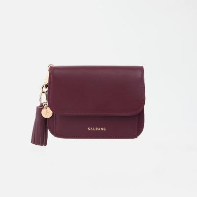 [미니태슬증정] Dijon N301R Round Card Wallet burgundy