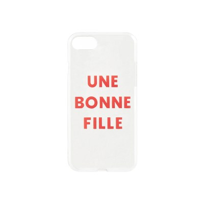 Une Bonne Fille Jelly iPhone case