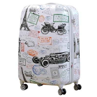앙뜨레 S2711 28형 스탬프 여행가방 여행용 캐리어
