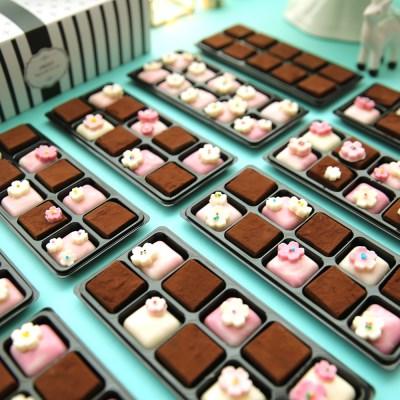 I 벚꽃블로썸 파베 초콜릿 만들기 세트 VER.2019