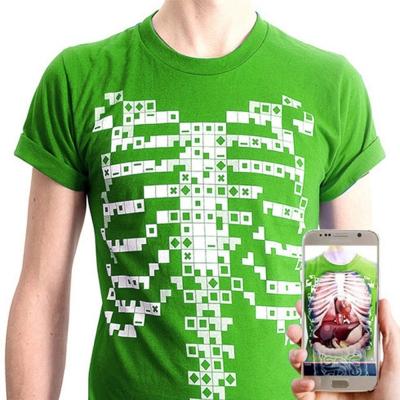 [DEVAR] 4D 인체교육용 AR 티셔츠