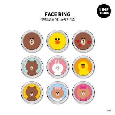 [LINE FRIENDS정품] 페이스링 시리즈