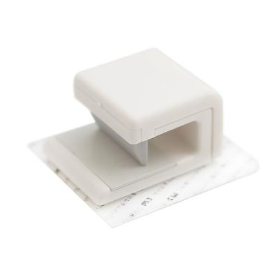 욕실 심플인테리어 폼클랜징폼 치약 튜브형 클립 홀더_(741377)