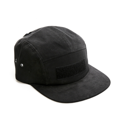 VELCRO CAMP CAP - BLACK_(1025645)