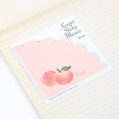 Keeper Sticky Memos(복숭아)