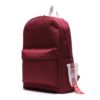 [로아드로아] LABEL POINT DAYPACK (BURGUNDY)_(764025)