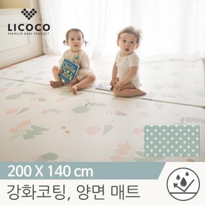 [리코코] 이모션 놀이방매트-마리의숲 200x140x1.5cm /특수 강화코팅