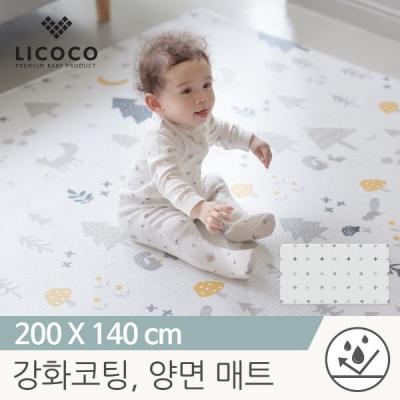 [리코코] 이모션 놀이방매트-메싸프렌즈 200x140x1.5cm