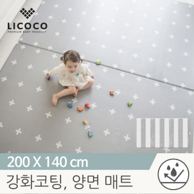 [리코코] 이모션 놀이방매트-크로스트 200x140x1.5cm