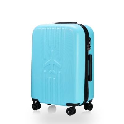 비아모노 Runway 런웨이 스카이블루 20형 기내용 캐리어 여행가방