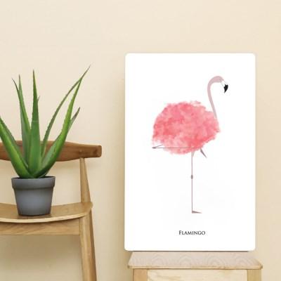 포스터 액자테이블(로맨틱 플라밍고)