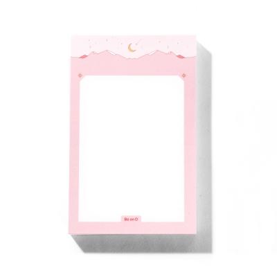 비온뒤 핑크 마운틴 메모지