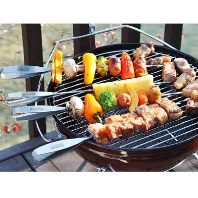 BSW BBQ 꼬치/캠핑용 바베큐꼬치(2p/4p)