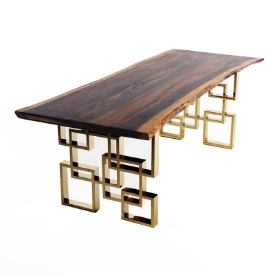 라이브엣지 타이거우드 식탁테이블 (프리오더)