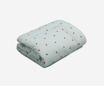 [룰라바이] Sweetheart Green Comforter 스윗하트 그린 차렵이불