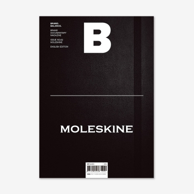 Magazine B Issue No.62 Moleskine(Eng.version)