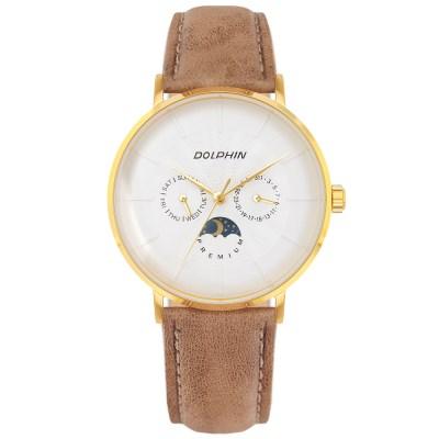 돌핀 DP 536-11 GOLD 썬앤문 남성시계