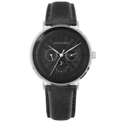 돌핀 DP 536-11 BLACK 썬앤문 남성시계