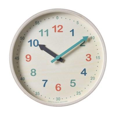 저소음 타임스터디.우드벽시계(color)