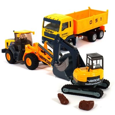 CONSTRUCTION MINIATURE 건설중장비22pcs
