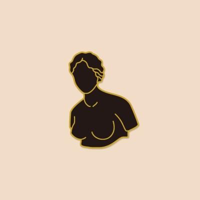AROUND 46호 feminine Badge