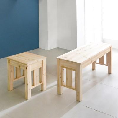 1200이사벨2인의자 스툴 벤치 원목 가구 테이블의자