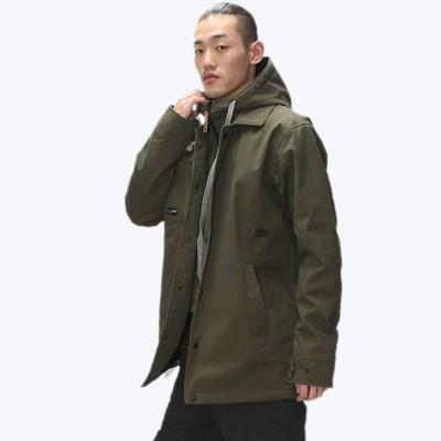 슈가포인트 남자 코치 스타일 보드 자켓 COACH 59 J - KHAKI
