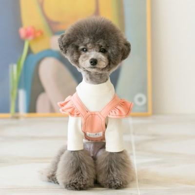 Angel suspender skirt / pink