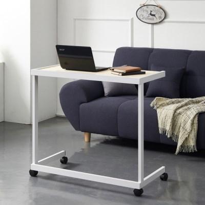 센트럴 레드파인 스틸 테이블 800 화이트_(1470652)