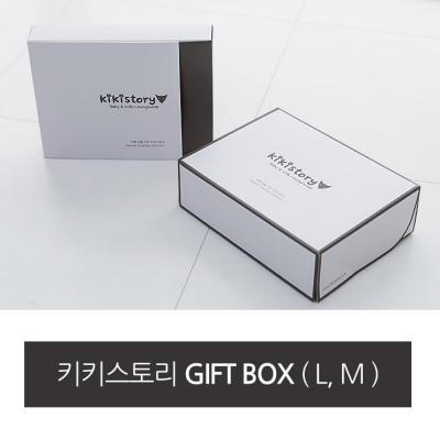 [키키스토리] GIFT BOX+비닐쇼핑백+로고스티커