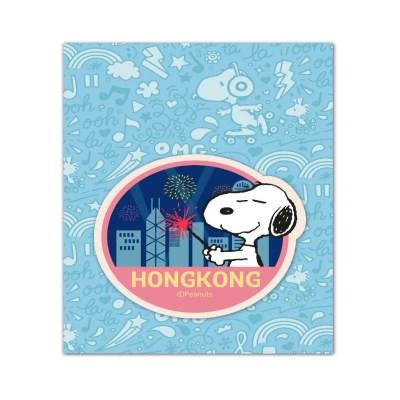 스누피 트래블데코스티커11 홍콩