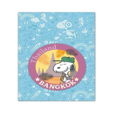 스누피 트래블데코스티커9 방콕