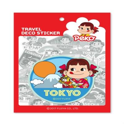 페코 트래블데코스티커 3 도쿄