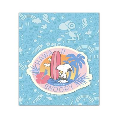 스누피 트래블데코스티커20 하와이2